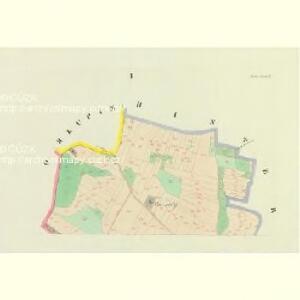 Michow - c4777-1-001 - Kaiserpflichtexemplar der Landkarten des stabilen Katasters