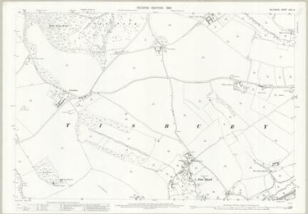 Wiltshire LXIV.14 (includes: Fonthill Gifford; Tisbury; West Tisbury) - 25 Inch Map