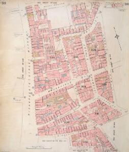 Insurance Plan of London Vol. XI: sheet 311