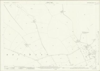 Hertfordshire IV.15 (includes: Kelshall; Therfield) - 25 Inch Map