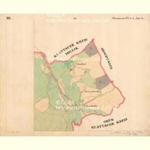 Hammern - c1768-1-003 - Kaiserpflichtexemplar der Landkarten des stabilen Katasters