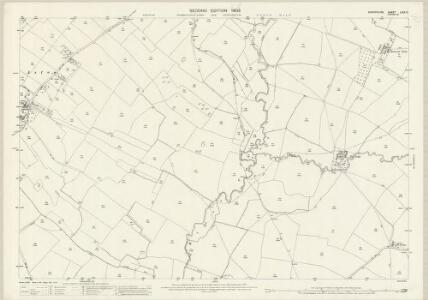 Shropshire LXIV.12 (includes: Diddlebury; Munslow; Tugford) - 25 Inch Map