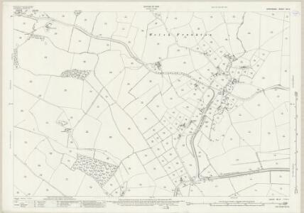 Shropshire XIII.9 (includes: Ellesmere Rural; Hordley; Whittington) - 25 Inch Map