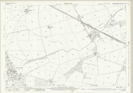 Worcestershire XLVII.5 (includes: Hanley Castle; Ripple; Upton upon Severn) - 25 Inch Map