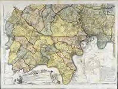 Carte topographique de le comté de Middlesex, 3