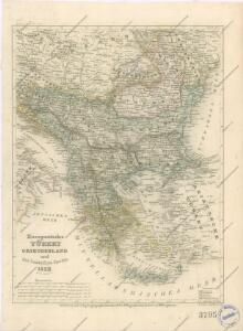 Europaeische Türkey, Griechenland und die Jonischen Inseln