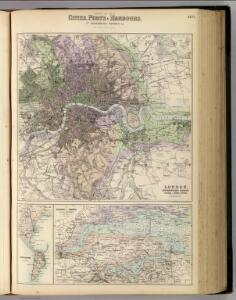 England and Wales, Cities, Ports & Harbours.