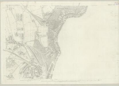 London (First Editions c1850s) LXXXIX (includes: Beckenham; Camberwell; Lambeth St Mary; Lewisham; Penge) - 25 Inch Map