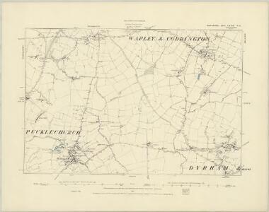 Gloucestershire LXXIII.SE - OS Six-Inch Map