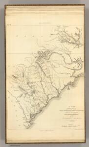 Virginia, North Carolina, South Carolina, & Georgia, Operations of the Southern Armies.