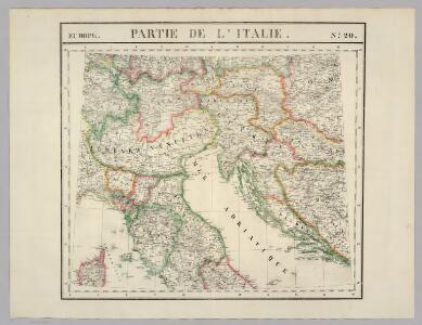 Partie, l'Italie. Europe 20.
