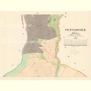 Petrowitz - c5739-1-002 - Kaiserpflichtexemplar der Landkarten des stabilen Katasters