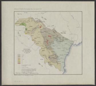 Le Thanh Hoa, étude géographique d'une province annamite. pl. n2 : Carte ethnolinguistique du Thanh Hoa