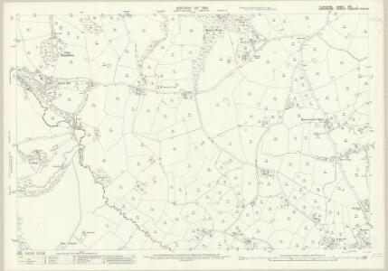 Flintshire XXV.1 (includes: Ellesmere Rural; Overton) - 25 Inch Map