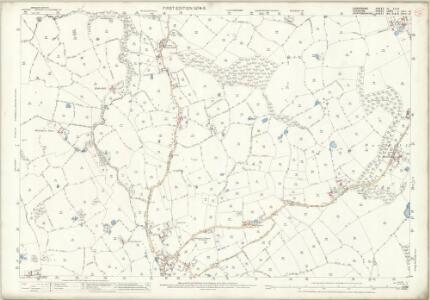 Shropshire IV.5 & 9 (includes: Checkley Cum Wrinehill; Madeley; Woore) - 25 Inch Map
