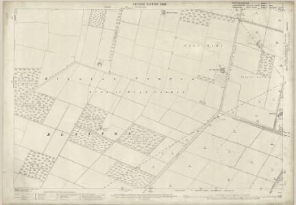 Nottinghamshire I.11 (includes: Blaxton; Finningley; Wroot) - 25 Inch Map
