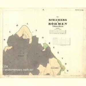 Schamers - c1022-1-001 - Kaiserpflichtexemplar der Landkarten des stabilen Katasters