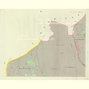 Hillemühl - c4766-3-002 - Kaiserpflichtexemplar der Landkarten des stabilen Katasters