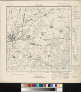 Meßtischblatt 2839 : Pritzwalk, 1938