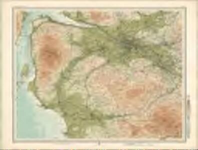 Glasgow - Bartholomew's 'Survey Atlas of Scotland'
