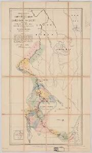 Map of the route explored by Captns. Speke & Grant from Zanzibar to Egypt : showing the outfall of the Nile from the Victoria Nyanza (Lake) and the various Negro territories discovered by them