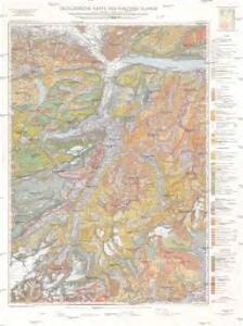 Geologische Karte des Kantons Glarus