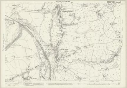 Derbyshire V.5 (includes: Bredbury and Romiley; Marple) - 25 Inch Map