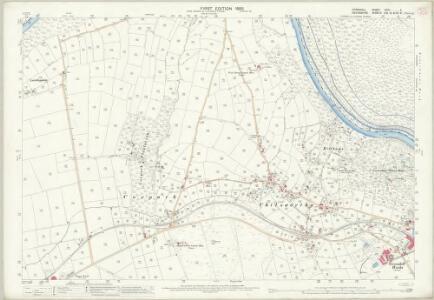 Cornwall XXIX.4 (includes: Calstock; Lamerton; Tavistock Hamlets) - 25 Inch Map