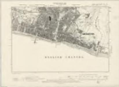 Sussex LXVI.SW - OS Six-Inch Map