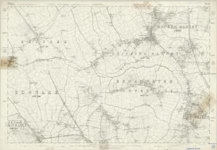 Middlesex VI - OS Six-Inch Map
