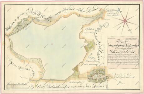 Geometrický plán Vlkovického rybníka s přilehlými rustikálními a činžovními pozemky 1