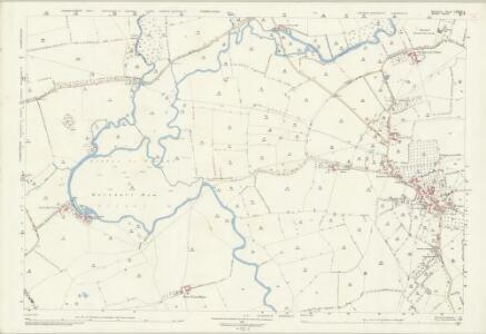 Somerset LXXXV.6 (includes: Fifehead Magdalen; Henstridge; Marnhull; Stalbridge) - 25 Inch Map