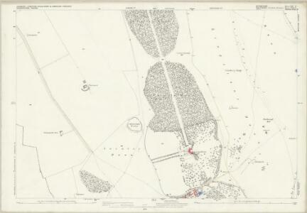 Berkshire XIX.9 (includes: Ashbury; Bishopstone; Compton Beauchamp; Lambourn) - 25 Inch Map