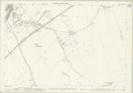 Surrey XIX.2 (includes: Cuddington; Ewell; Sutton and Cheam) - 25 Inch Map