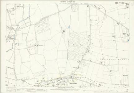 Sussex IV.2 (includes: Burstow; Worth) - 25 Inch Map