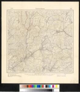 Meßtischblatt 3179 : Unterneubrunn, 1905