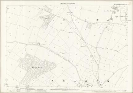 Nottinghamshire XXX.10 (includes: Averham; Kelham; South Muskham) - 25 Inch Map