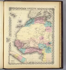 Africa North Western Sheet.