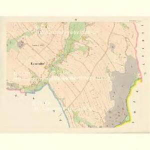 Kunzendorf (Kunčinowes) - c3697-1-002 - Kaiserpflichtexemplar der Landkarten des stabilen Katasters
