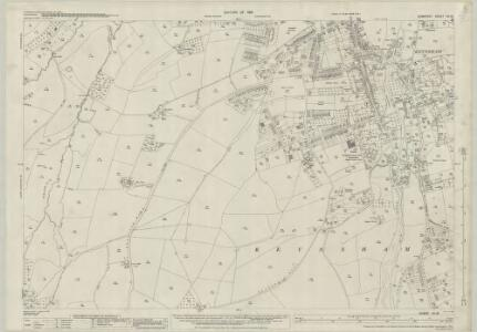 Somerset VII.13 (includes: Compton Dando; Keynsham) - 25 Inch Map