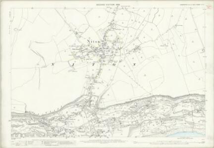 Hampshire and Isle of Wight C.2 (includes: Niton; Ventnor) - 25 Inch Map