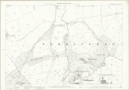 Gloucestershire XIII.11 (includes: Dumbleton; Toddington) - 25 Inch Map