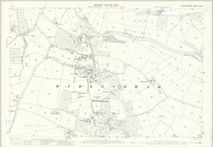 Worcestershire XLVIII.3 (includes: Birlingham; Defford; Eckington; Pershore) - 25 Inch Map