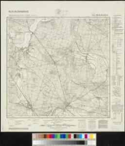 Meßtischblatt 3848 : Märk. Buchholz, 1941
