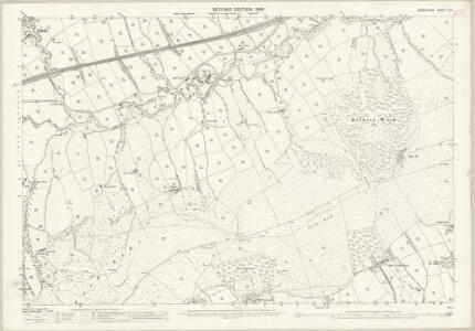 Derbyshire IX.4 (includes: Castleton; Edale) - 25 Inch Map