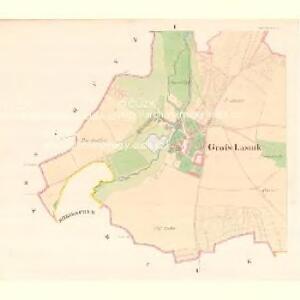 Gross Lasnik (Hruby Lasnik) - m1478-1-001 - Kaiserpflichtexemplar der Landkarten des stabilen Katasters