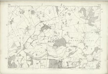 Wiltshire XLIII - OS Six-Inch Map