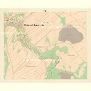 Deutsch Lodenitz - m0797-2-007 - Kaiserpflichtexemplar der Landkarten des stabilen Katasters