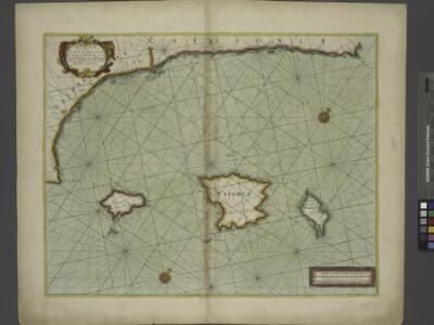 The sea coast of VALENCIA and CATALONIA from C S Martin to C Drago with the Island of Maiorca Minorca and Jvica