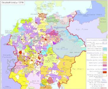 Deutschland um 1378